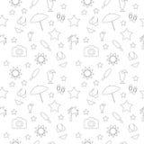 Sommar vektor illustrationer