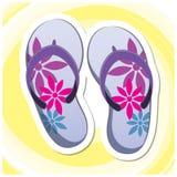 Sommar Art Series 7 - Flip Flops Royaltyfria Foton