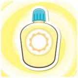 Sommar Art Series 8 - Sunscreen Arkivbilder