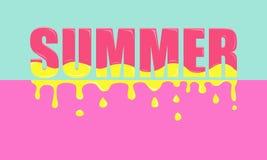 Sommar - färgrikt baner Royaltyfri Bild