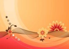 sommar för 01 blommor vektor illustrationer
