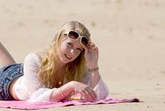 sommar för 2 flicka Royaltyfri Fotografi