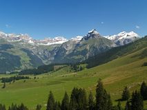 sommar för 4 alps Royaltyfri Bild