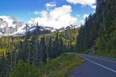 sommar för 542 route Arkivfoto