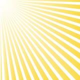 Sommar för bakgrund för modell för sunburst för solstrålstråle Skensommarmodell Arkivbild