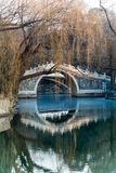 sommar för beijing porslinslott Fotografering för Bildbyråer