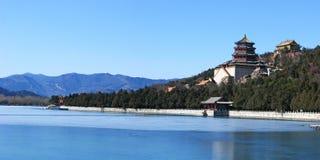 sommar för beijing porslinslott Royaltyfri Fotografi