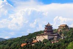 sommar för beijing porslinslott Royaltyfri Bild