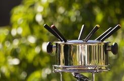 sommar för fondue ii Fotografering för Bildbyråer