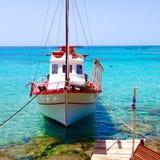 sommar för greece helig lookberg Royaltyfria Foton