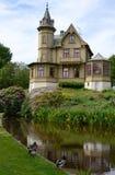 sommar för säsong för slottpark ronneby Royaltyfria Bilder