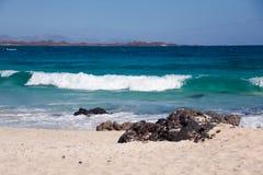sommar för strandsandspanjor Royaltyfria Bilder