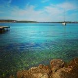 Sommar hav Royaltyfri Fotografi