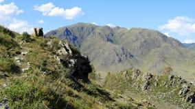 _ Sommar i bergen Fotografering för Bildbyråer