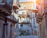 Sommar i byn, Salamanca royaltyfri foto