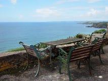 Sommar i Cornwall Arkivbild