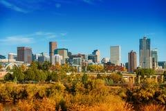 Sommar i Denver Colorado arkivbilder