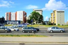 Sommar i huvudstad av det Litauen Vilnius stadsPasilaiciai området Royaltyfria Foton