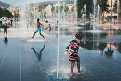 Sommar i Nice royaltyfri foto