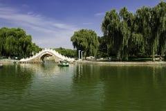 Sommar i Peking Longtan parkerar Royaltyfri Foto