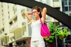 Sommar i staden Fotografering för Bildbyråer