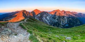 Sommar i Tatras Arkivbild