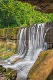 Sommar på Anderson Falls Royaltyfria Foton