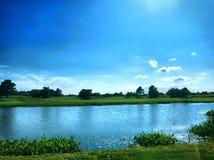Sommar på sjön Royaltyfri Foto