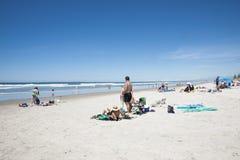 Sommar på stranden. Royaltyfria Foton
