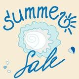 Sommar-Sale Arkivbilder