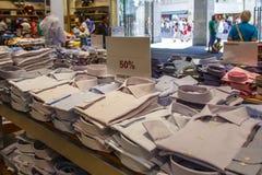 Sommar Sale i Munich, Tyskland, 2015 Arkivbild