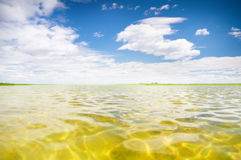 Sommar sjö Arkivfoton