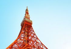 2011 sommar taget tokyo torn arkivbilder