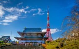 2011 sommar taget tokyo torn Royaltyfria Bilder