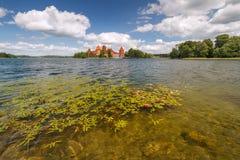 Sommar Trakai Royaltyfria Bilder