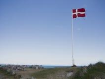 Sommar vid Nordsjön Arkivbild