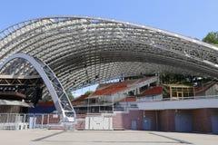 Sommaramfiteater, konserthall, Vitebsk royaltyfri fotografi