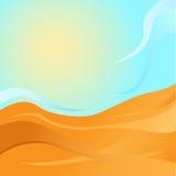 Sommarbakgrund Arkivbilder