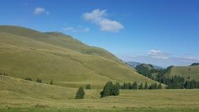 Sommardag i bergen Royaltyfria Bilder