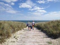 Sommardag i Danmark Fotografering för Bildbyråer