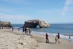 Sommardag i Santa Cruz fotografering för bildbyråer