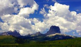 Sommardag på det högsta berget Royaltyfri Foto