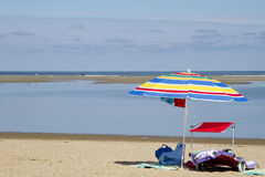 Sommardag på stranden Royaltyfri Bild