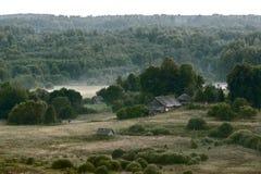 SOMMAREN landskap Royaltyfri Bild
