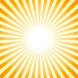 Sommarfärg texturerar bakgrund med sunbursten, feriebakgrund royaltyfria foton