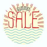 Sommarförsäljning stock illustrationer