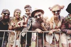 Sommarfestival royaltyfria bilder