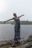 Sommarfrihet Fotografering för Bildbyråer