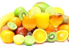 Sommarfrukter Arkivbilder