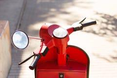 Sommargatasparkcykel arkivfoton